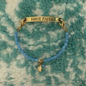 """""""Have Faith"""" Bracelet"""